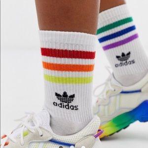 Adidas originals rainbow gay pride socks Lgbtq